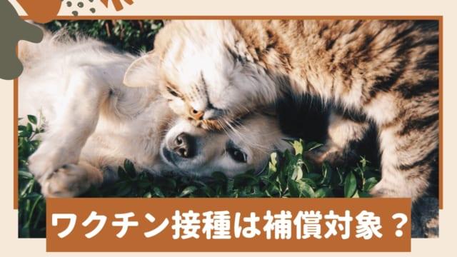 ワクチン ペット保険